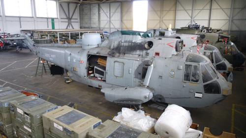 Aviation Feature Raf C 130k Hercules In Storage