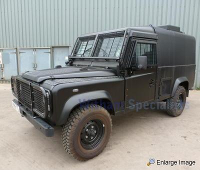 land rover snatch 3 5 v8 armoured 44385 mod sales military vehicles used ex mod land. Black Bedroom Furniture Sets. Home Design Ideas