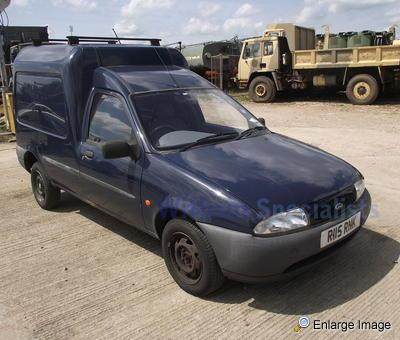 ford fiesta courier van mod sales military vehicles used ex mod land rovers for sale. Black Bedroom Furniture Sets. Home Design Ideas