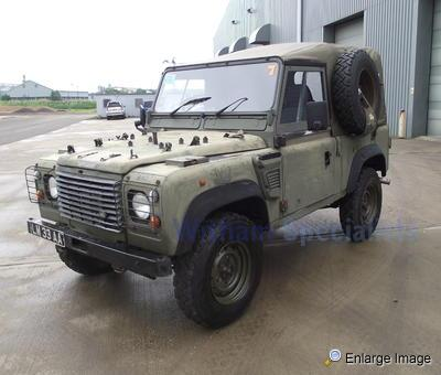 Land Rover Wolf 90 Soft Top