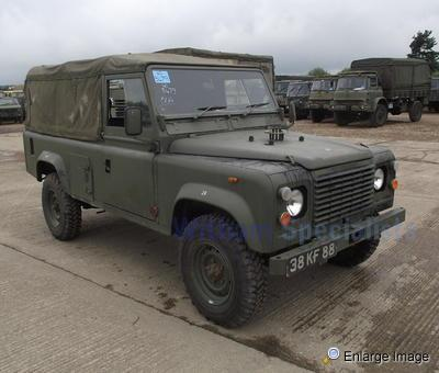 Land Rover 110 Soft Top