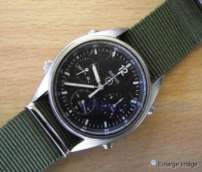 1 x Seiko Pilots Chronograph Watch
