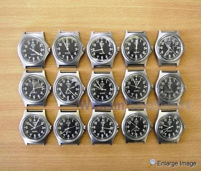 15 x CWC Watches