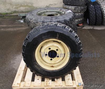 Used Land Rovers For Sale >> 5 x Land Rover Rims With, Michelin XCL 7.50 x 16 Tyres ...