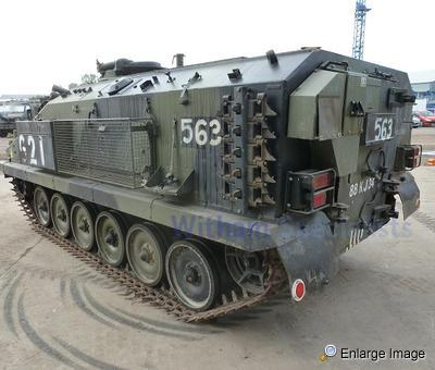 alvis stormer tracked armoured recon vehicle 46202 mod sales military vehicles used ex. Black Bedroom Furniture Sets. Home Design Ideas