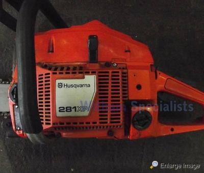 Used Land Rovers >> Husqvarna 281XP Chainsaw - MOD Sales, Military Vehicles ...