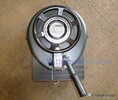 diagraph stencil machine