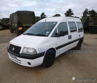fiat scudo combi sx jtd wheelchair accessible 58467 mod sales military vehicles used ex. Black Bedroom Furniture Sets. Home Design Ideas