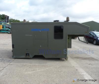 Land Rover Pulse Ambulance 130, Take Off Marshall Rear ...