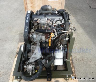 supacat vw 1 9 turbo diesel takeout engine 68528 mod sales military vehicles used ex mod. Black Bedroom Furniture Sets. Home Design Ideas