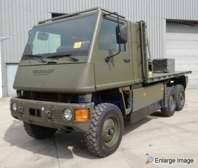 LHD Mowag Duro II Hiab 6x6 All terrain