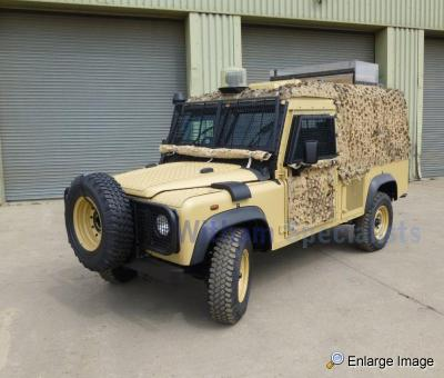 Land Rover Snatch 2A Armoured