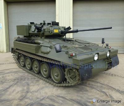 cvrt scimitar dieselised apc 76124 mod sales military vehicles used ex mod land rovers. Black Bedroom Furniture Sets. Home Design Ideas