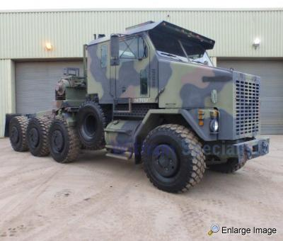 Oshkosh M1070 , Heavy equipment transporter (HET), #87296 - MOD