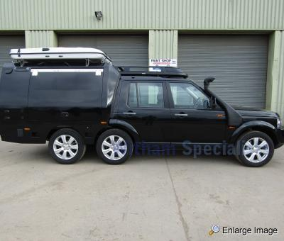 Land Rover Discovery 4 6x4 Expedition Vehicle Rhd