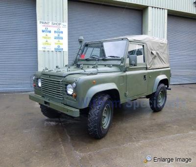 Land Rover Wolf 90