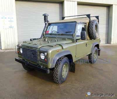 Land Rover Wolf 90 RHD