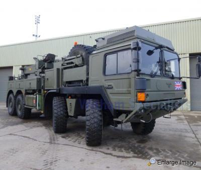 MAN SX45 32 430 , 8x8 Recovery Truck RHD, #88487 - MOD Sales